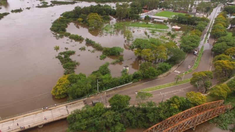 RS: Prejuízo com a chuva em Alegrete ultrapassa R$ 10 milhões, estima prefeitura