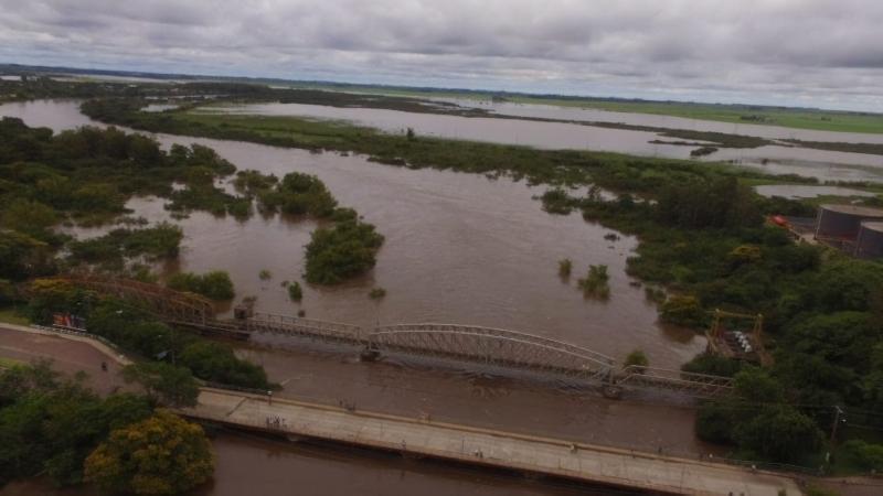 RS: Enchentes prejudicam a produção de arroz no Rio Grande do Sul