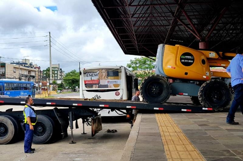 Porto Alegre: Começa vistoria técnica no Terminal Triângulo