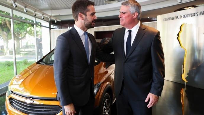 Leite mostra confiança na permanência da GM em Gravataí.  Governador do RS esteve em São Paulo e conversou com a diretoria da empresa