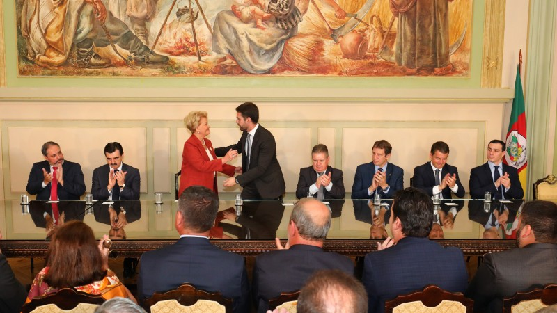 RS: Ana Amélia fará extensão do Estado em Brasília. Ex-Senadora tomou posse como secretária de Relações Federativas e Internacionais