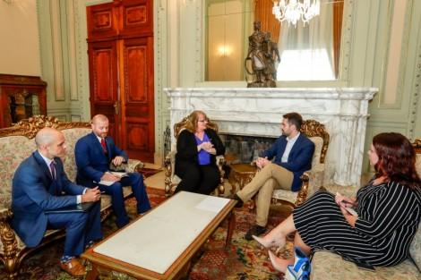 RS: Cônsul Julia Harlan destaca momento de intercâmbio entre Brasil e EUA