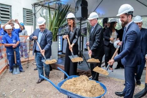 Ato simbólico marca início de novo hospital da Santa Casa com 198 leitos
