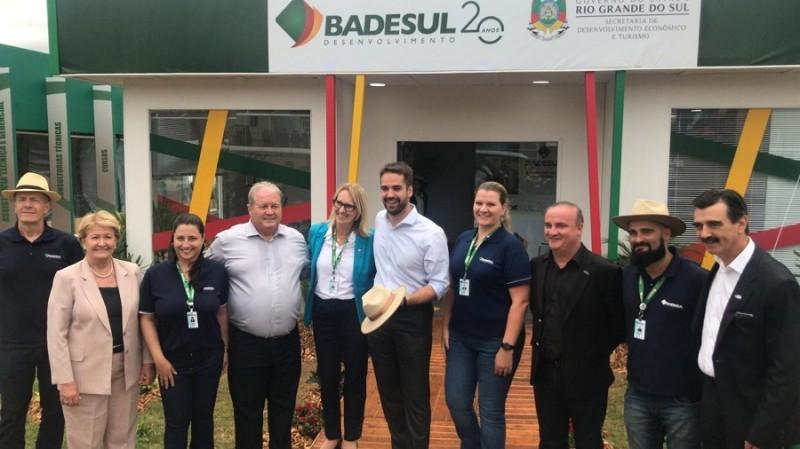 RS: Badesul atrai mais de R$ 162 milhões em propostas de financiamento na Expodireto 2019