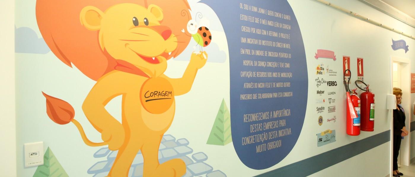 Inaugurada nova oncologia pediátrica do Hospital Criança Conceição, em parceria com o Instituto do Câncer Infantil