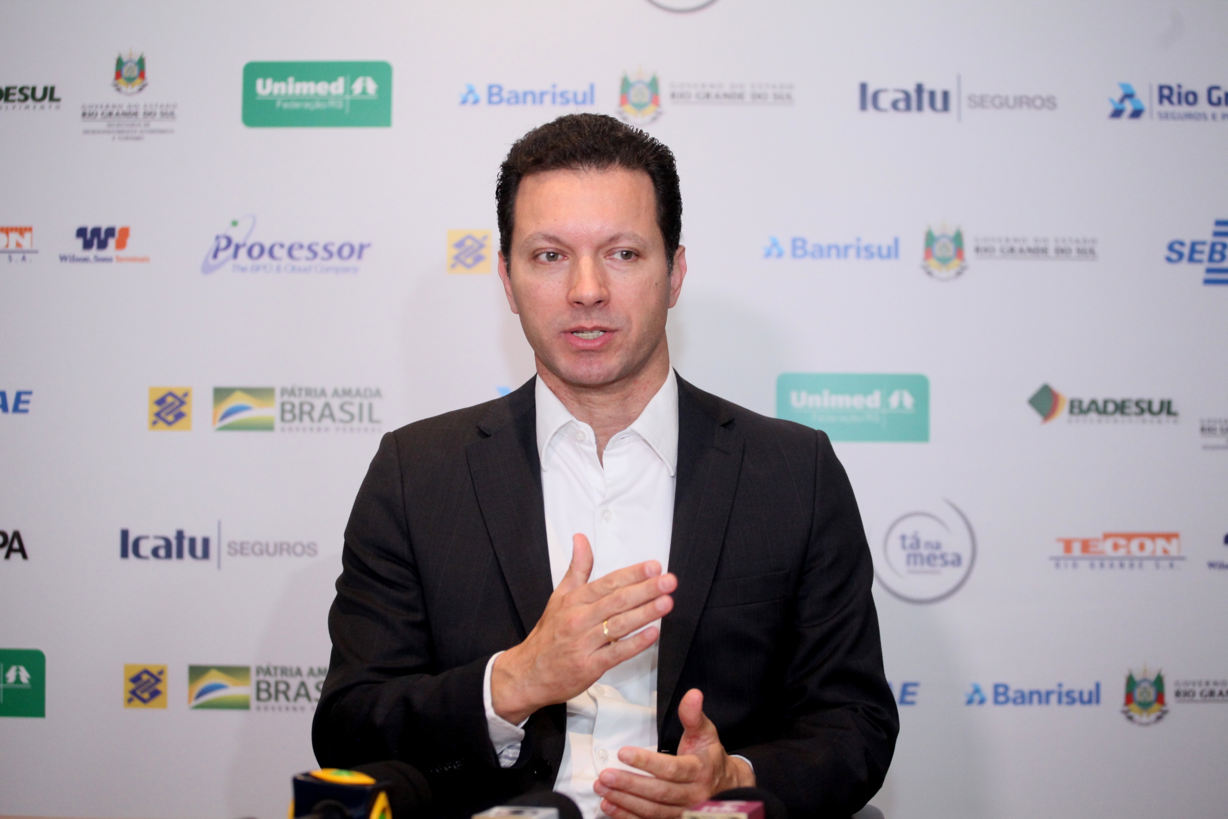 Marchezan Jr. vê oportunidades no terceiro ano de mandato. Na Federasul, ele falou sobre relação com o Simpa, desestatização e reformas estruturantes
