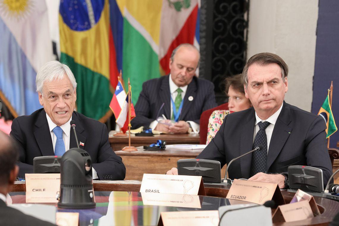 """Prosul será """"um fórum sem ideologias"""", defende Piñera. Presidente do Chile se refere ao grupo que reunirá 12 países da região"""