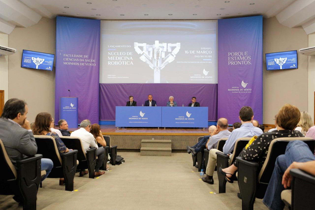 Hospital Moinhos de Vento lança Núcleo de Medicina Robótica