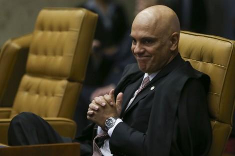 """""""Pode espernear à vontade"""", diz Moraes sobre críticas a inquérito"""