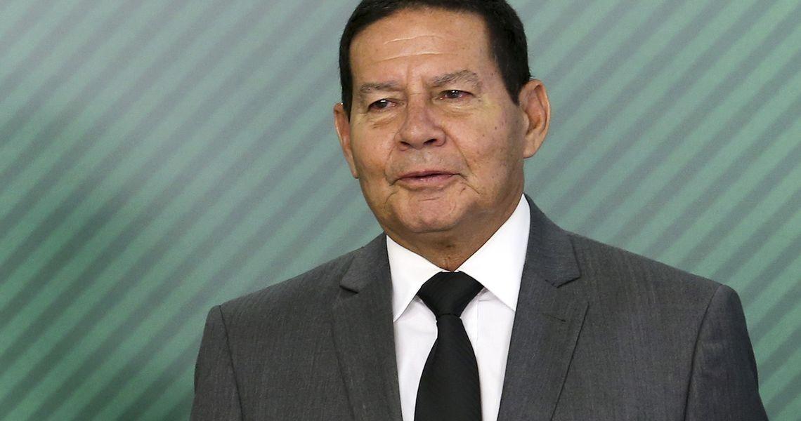 Porto Alegre: Presidente em exercício General Mourão participa de Painel sobre segurança pública nesta sexta-feira