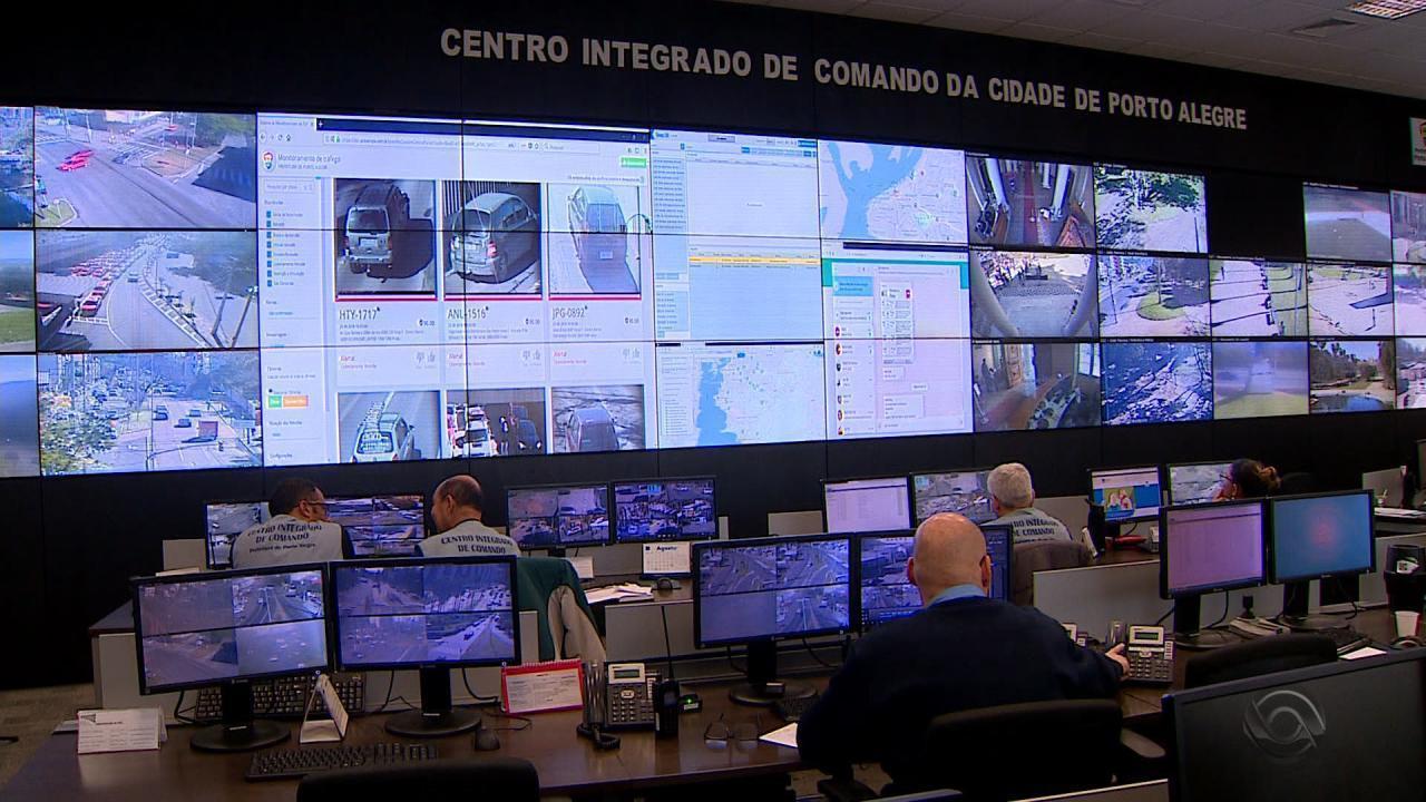 Porto Alegre: Carro roubado é recuperado após passar pelo cercamento eletrônico