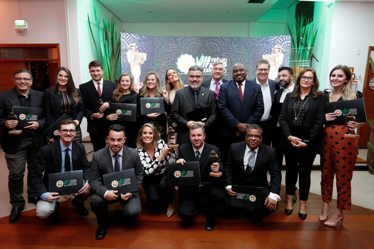 VIII Prêmio Asdep de Jornalismo reconhece produções sobre atuação da Polícia Civil e Segurança Pública