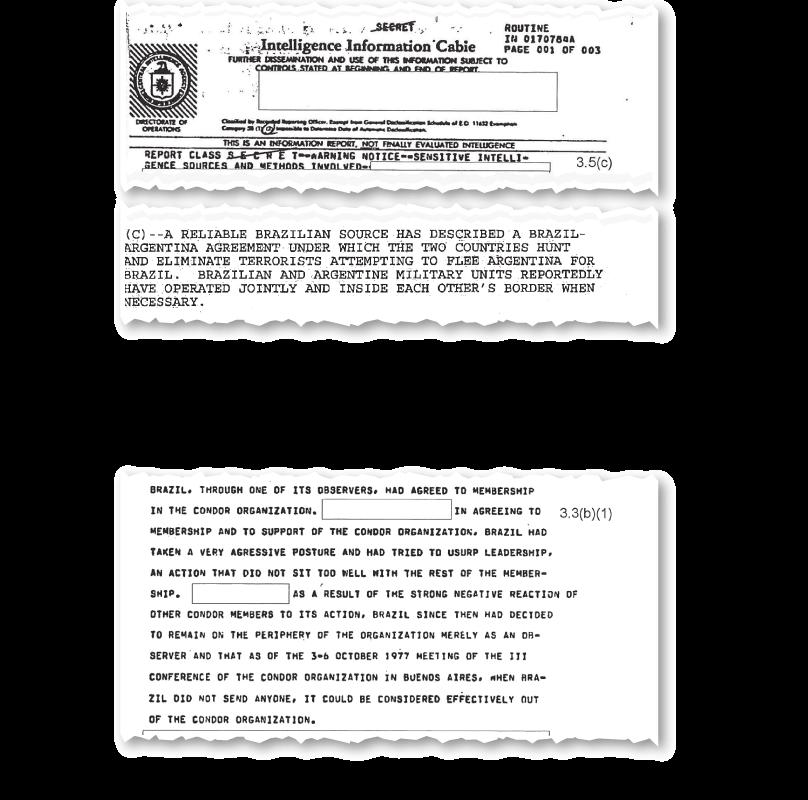 Documentos da CIA apontam que Brasil tentou liderar Operação Condor
