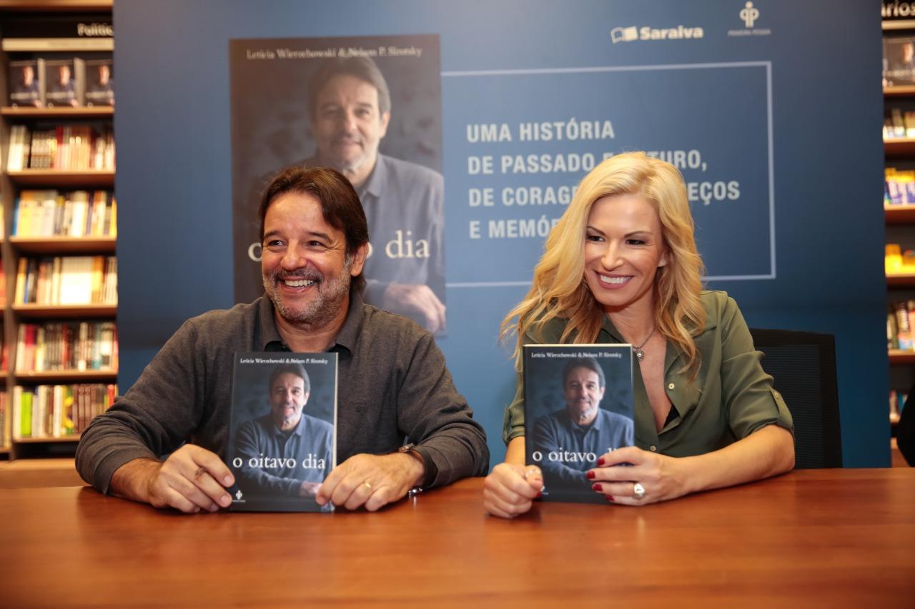 Porto Alegre: Leticia Wierzchowski e Nelson P. Sirotsky participam de bate-papo literário segunda-feira na Sala Álvaro Moreyra