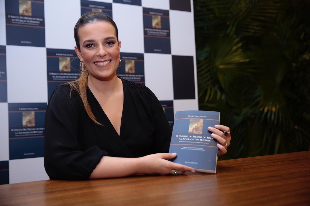 """Livros: Karime Costalunga lança """"Direito do Meeiro do Sócio na Apuração de Haveres – Proposta de Interpretação da Legislação Civil"""""""
