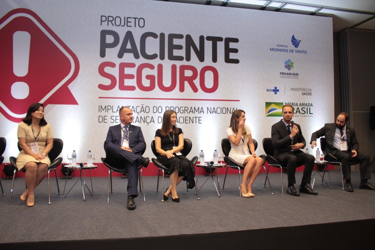 Segurança do Paciente é tema de evento internacional em Brasília. 2° Encontro do Projeto Paciente Seguro, realizado pelo Hospital Moinhos de Vento, marcou a adesão de 45 novas instituições ao Projeto