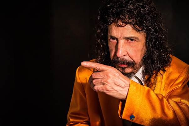 "Porto Alegre: Benito Di Paula apresenta turnê ""Fim de Papo"" dia 18 de maio no Teatro do Bourbon Country"