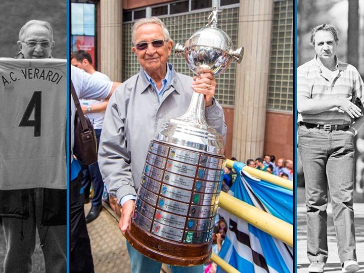 Antônio Carlos Verardi morre aos 84 anos. Funcionário mais antigo do Grêmio, ele começou a trabalhar no Tricolor em 1965; do Correio do Povo