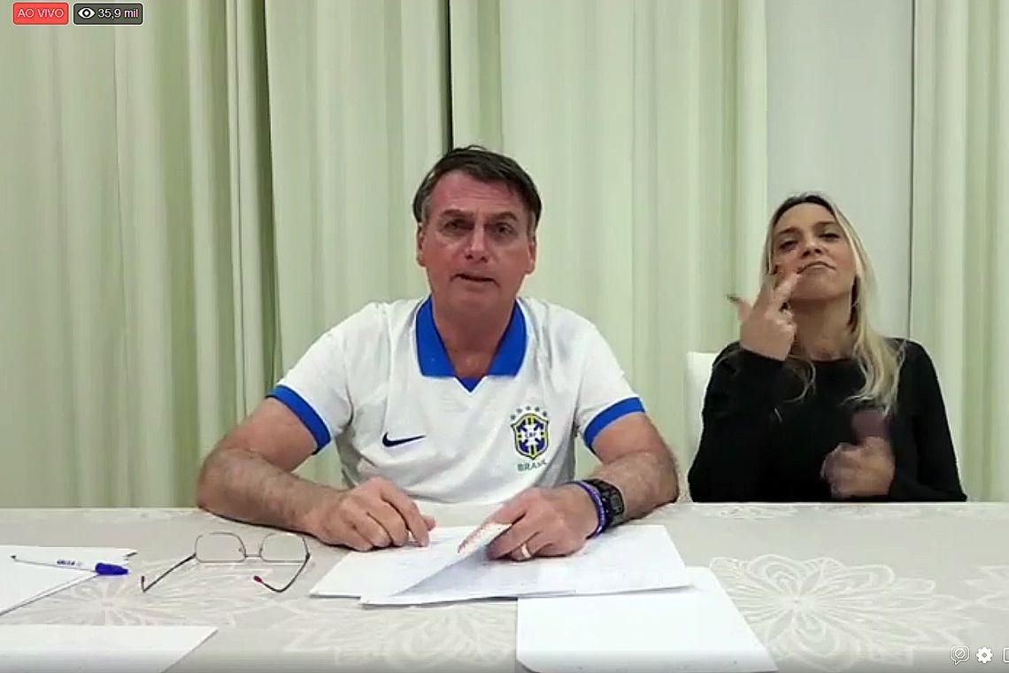 Lei Rouanet deverá ter teto de R$ 1 milhão por projeto, diz Bolsonaro