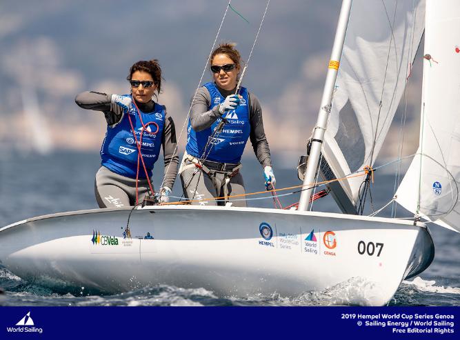 Vela: Dupla Gaúcha conquista medalha de ouro na etapa da Copa do Mundo de Vela da Itália.  Fernanda Oliveira e Ana Barbachan, do Clube dos Jangadeiros, garantiram o título por antecipação nas regatas do penúltimo dia de competição em Gênova, na Itália.