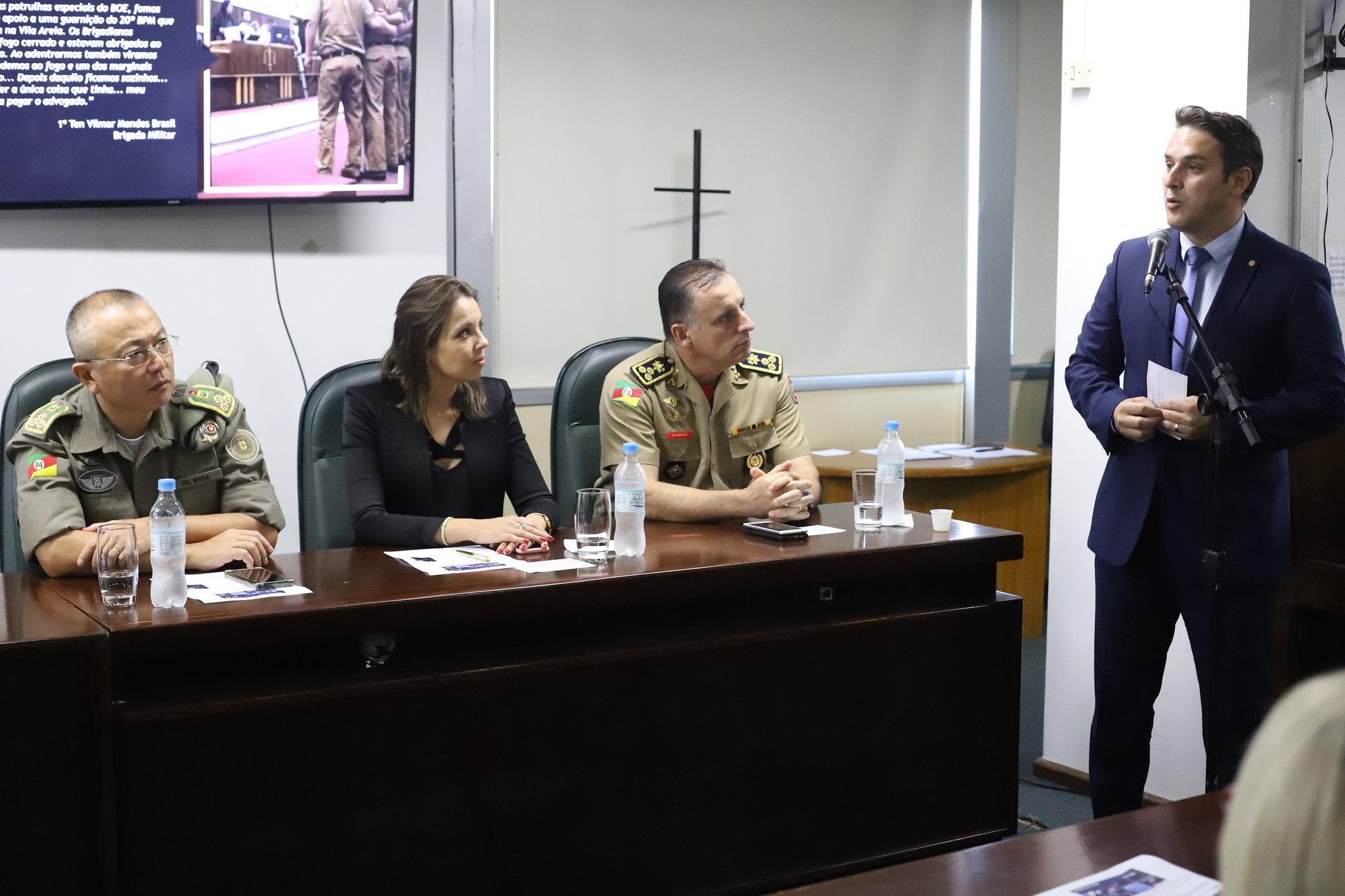 RS: Assembleia instala Frente Parlamentar de valorização dos Servidores da Segurança Pública