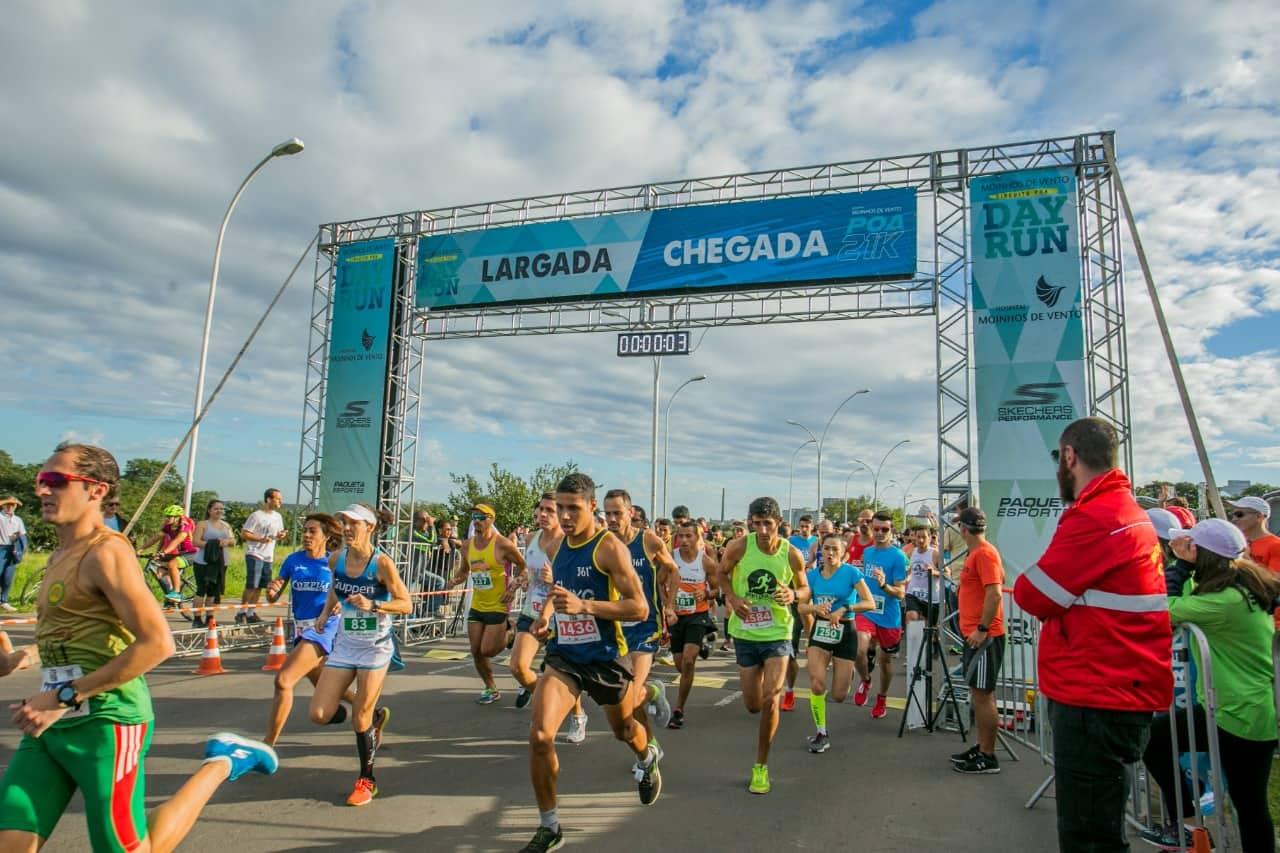 Porto Alegre: Hospital Moinhos de Vento Poa 21k e Circuito Poa Day Run reúnem quatro mil atletas de todas as idades