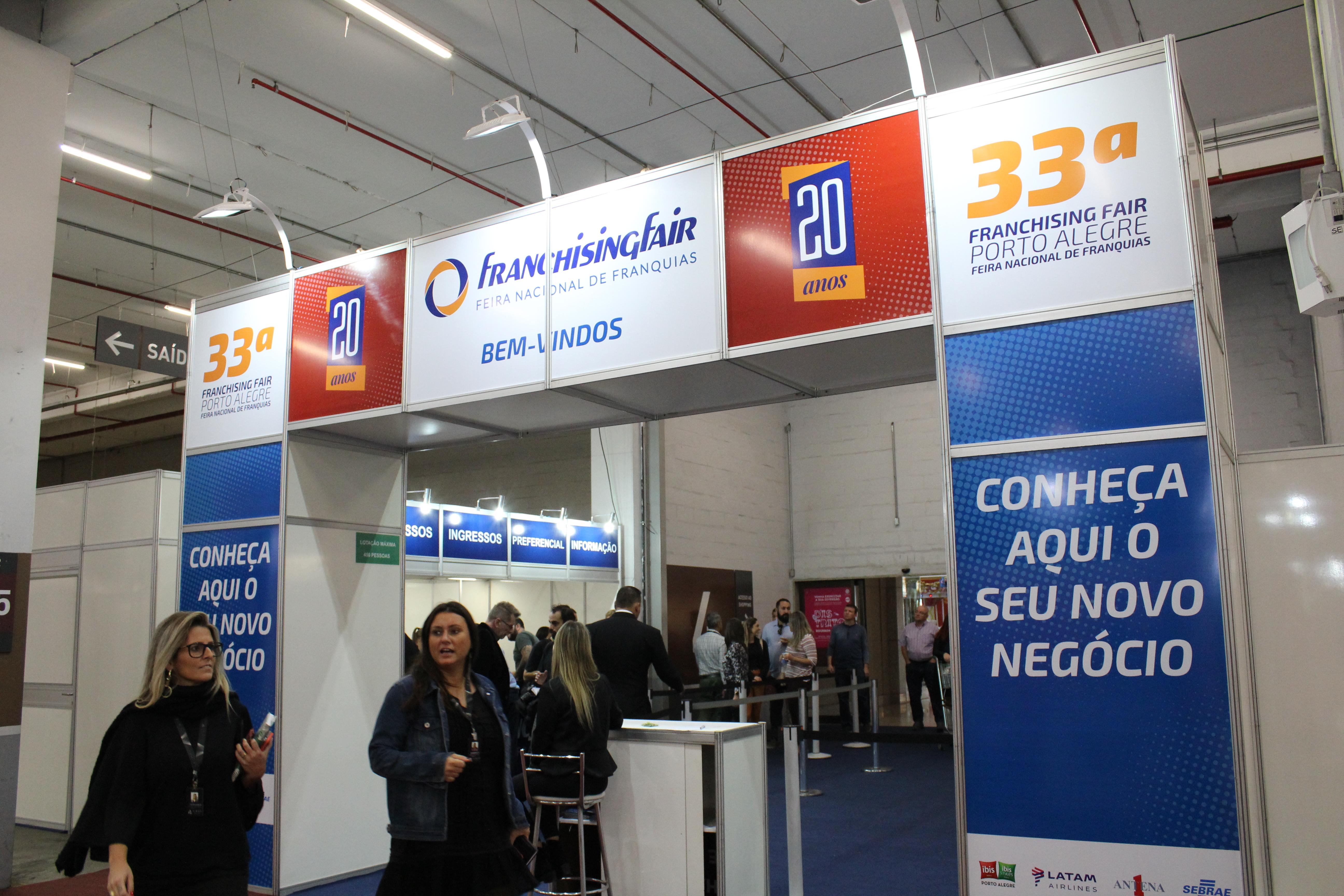 Porto Alegre: Feira Nacional de Franquias realiza mais de R$ 13 milhões em novos negócios. Franchising Fair supera expectativa de negócios fechados em 30%
