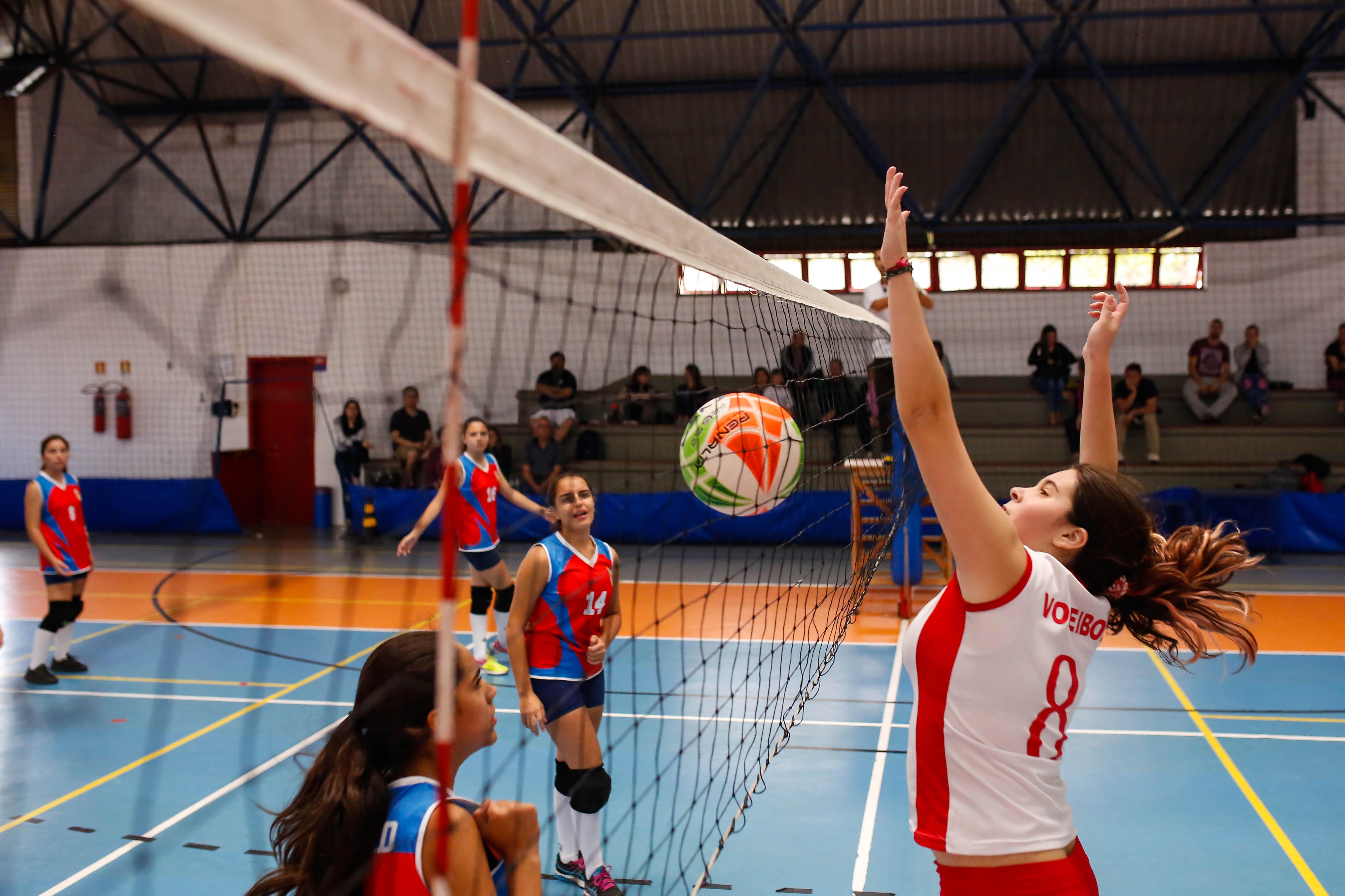 Começam as disputas de vôlei dos Jogos Abertos de Porto Alegre