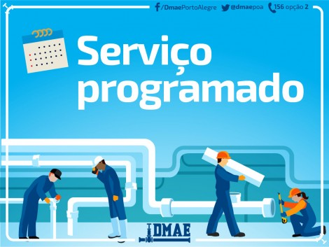 Porto Alegre: Serviço do Dmae impacta abastecimento de água em quatro bairros