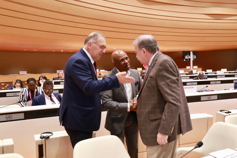 Gilberto Petry representa a CNI em conferência da OIT. Presidente da FIERGS defende, em Genebra, modernização ocorrida na legislação brasileira