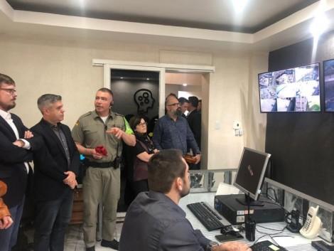 Nova sala de monitoramento de vídeo é inaugurada na Cadeia Pública de Porto Alegre
