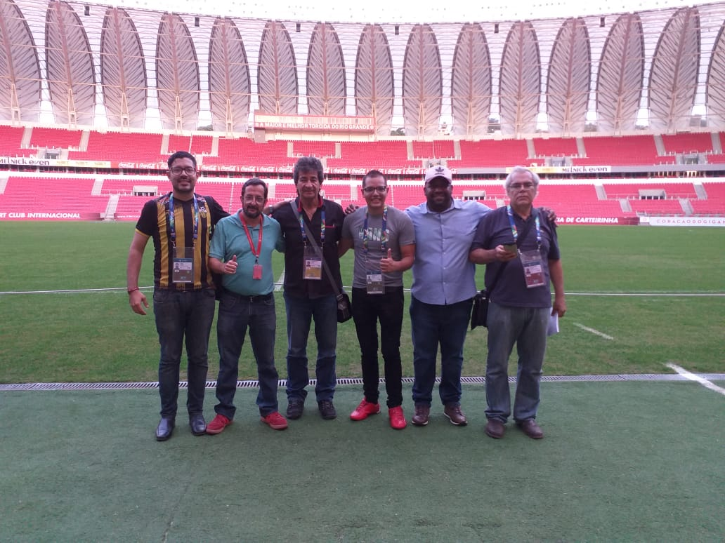 Copa América: ACEG consegue ajuda para cronistas venezuelanos em Porto Alegre