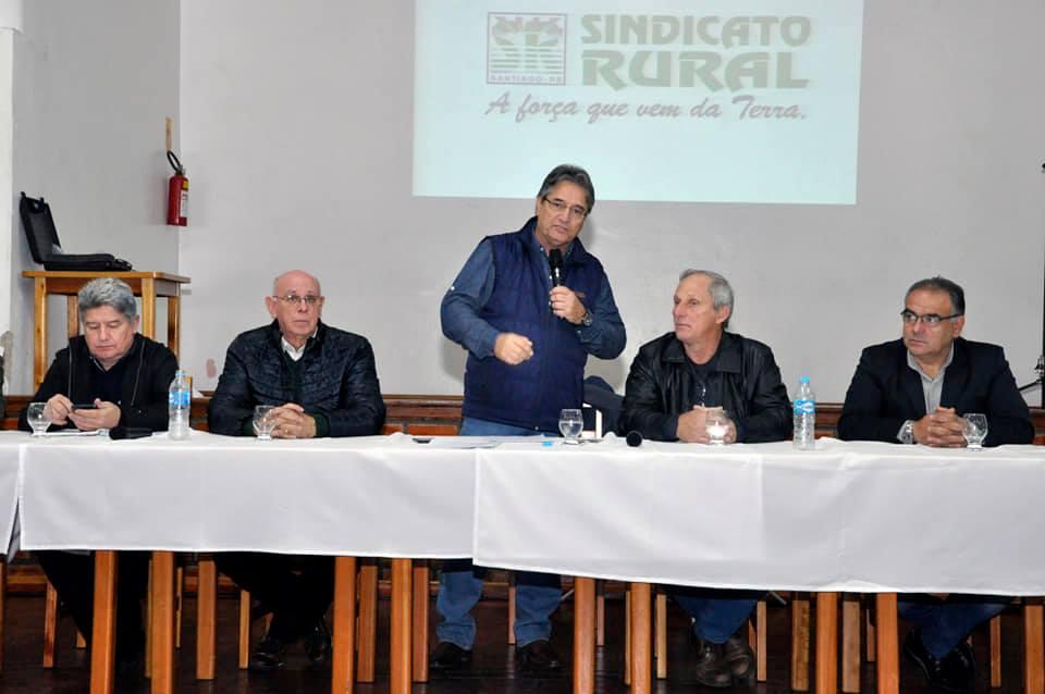 RS: Alegrete e Santiago dão início a novo ciclo de interiorização Sistema Farsul em Campo