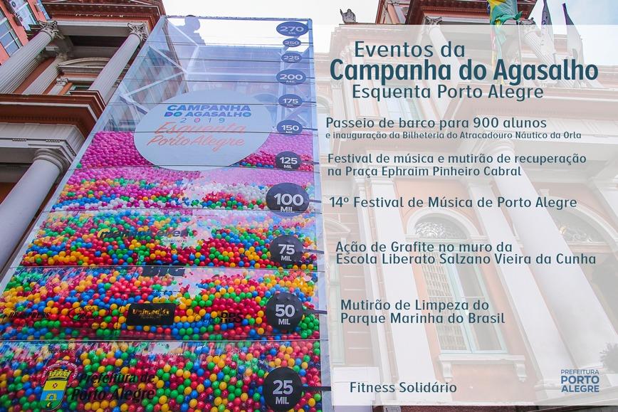 Porto Alegre: Campanha do Agasalho chega a 150 mil peças arrecadadas