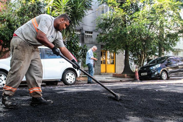 Porto Alegre: Operação Tapa-Buracos atendeu 45 vias na última semana