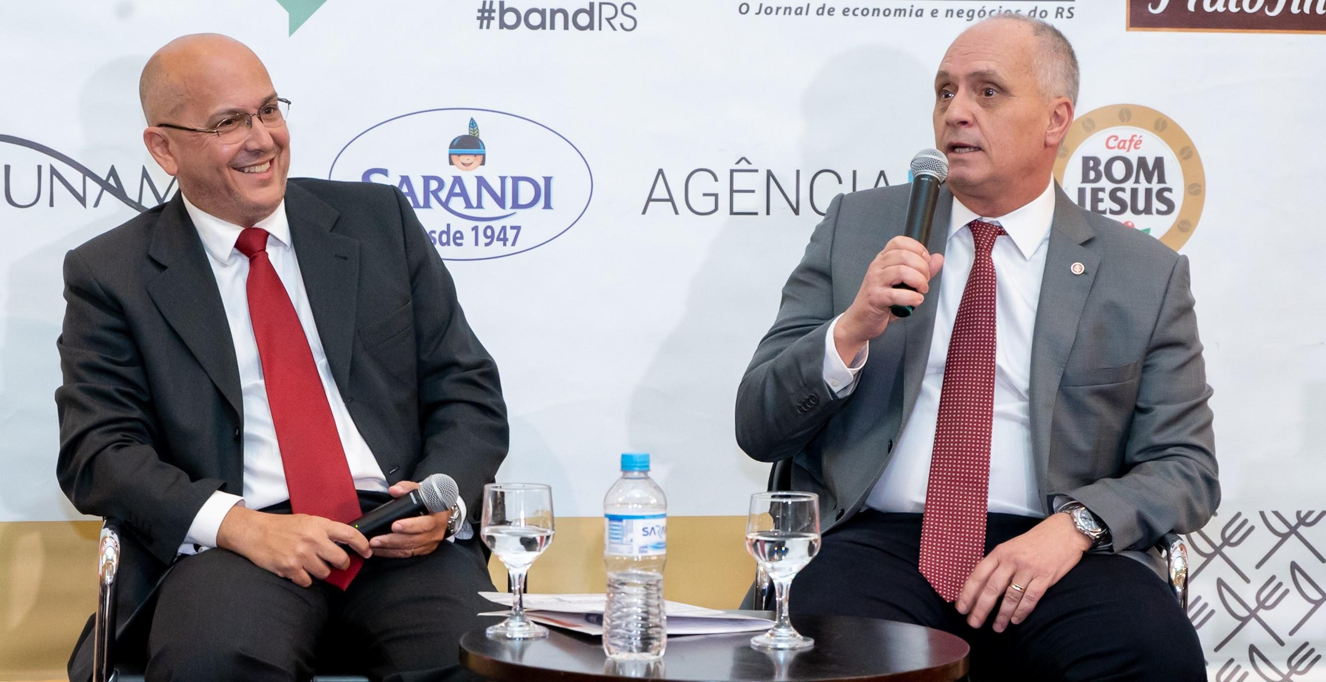 """Porto Alegre: Marcelo Medeiros diz que a grenalização tem que ser positiva. """"Inter e Grêmio são uma força catalisadora da economia, do turismo e do futuro de Porto Alegre, que vive um novo momento em sua relação com o Guaíba."""""""