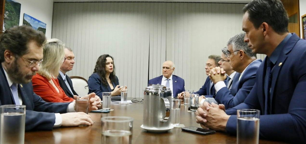 Janaina Pascoal articula apoio de senadores para impeachment de Toffoli