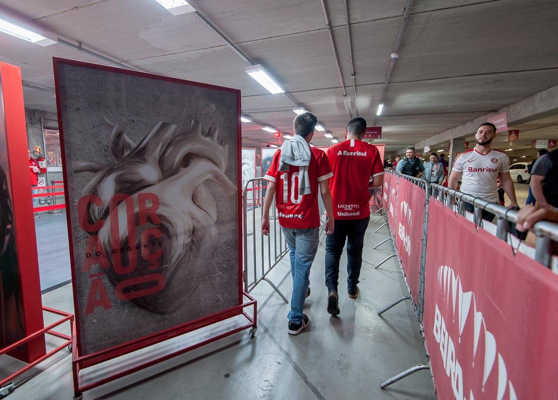 Já estão à venda os ingressos para Inter e Chapecoense no Coração do Gigante. Partida acontece no domingo, dia 22 de setembro, às 11h