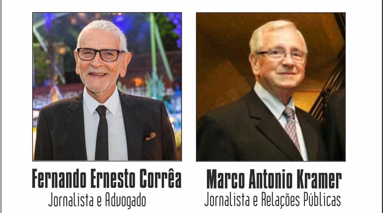 Valvulados: Fernando Ernesto Corrêa e Marco Antonio Kramer são os convidados de Julio Ribeiro nesta 2ª feira