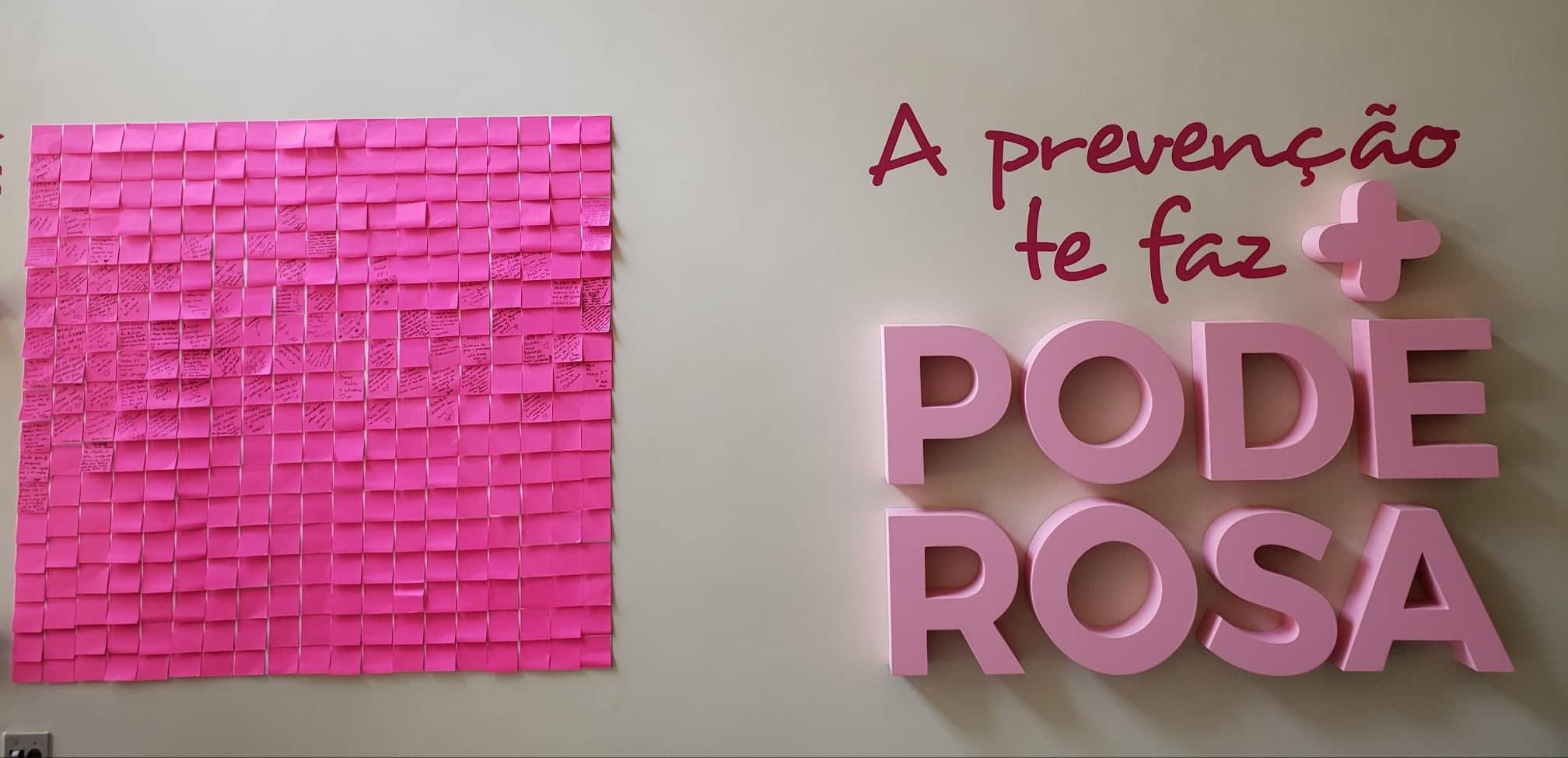 SBT realiza evento especial em apoio ao Movimento Outubro Rosa