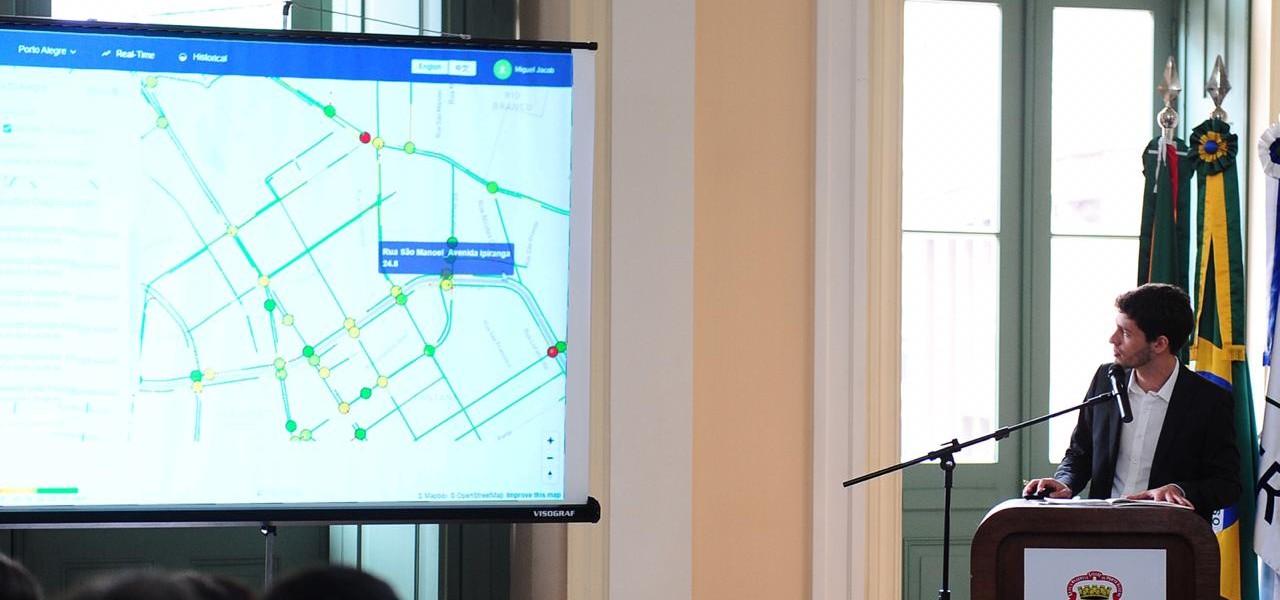 99 entrega sistema de gestão inteligente das sinaleiras para Porto Alegre
