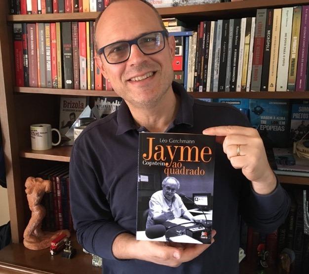 """Livros: Léo Gerchmann lança """"Jayme Copstein ao quadrado"""". Uma obra que mostra a essência de um dos mais importantes comunicadores gaúchos."""