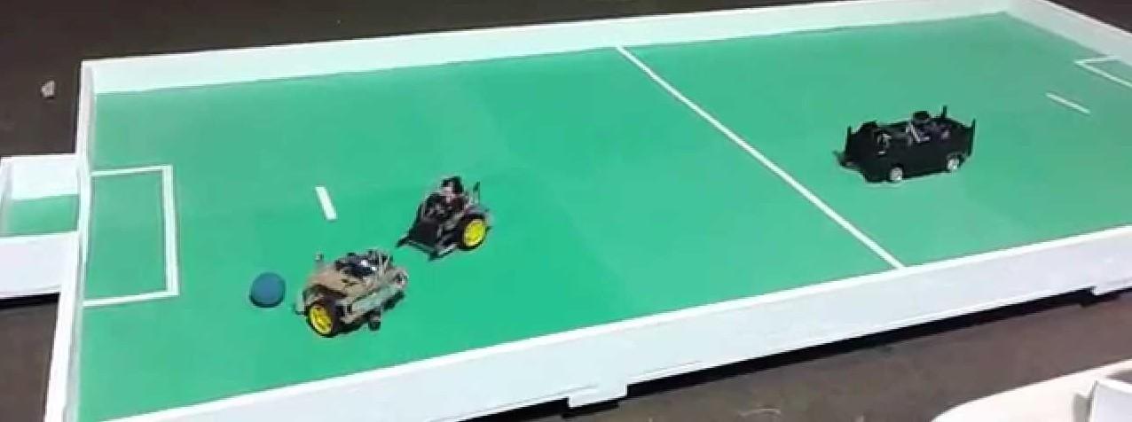Porto Alegre: Futebol de robôs na EXPO CIEE-RS