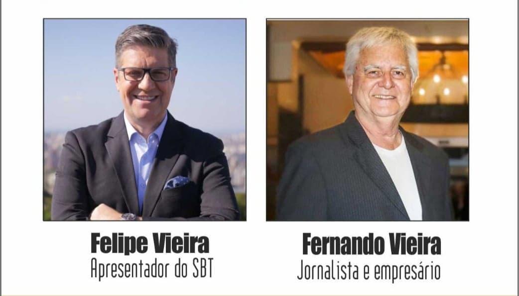"""Valvulados: Programa desta segunda-feira terá """"os Vieiras"""". Felipe e Fernando são os convidados de Julio Ribeiro"""
