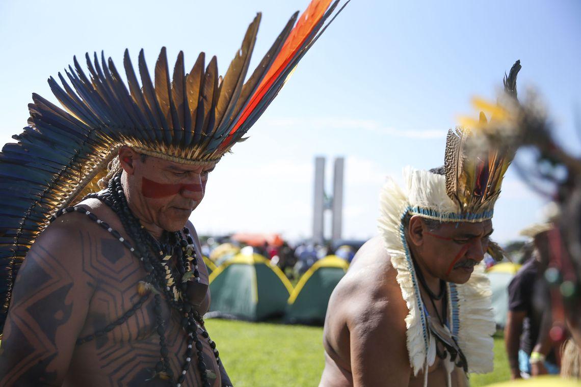 Encontro debate luta kaingang pela terra no Alto Uruguai do RS