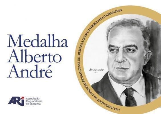 ARI divulga lista de homenageados para a Medalha Alberto André