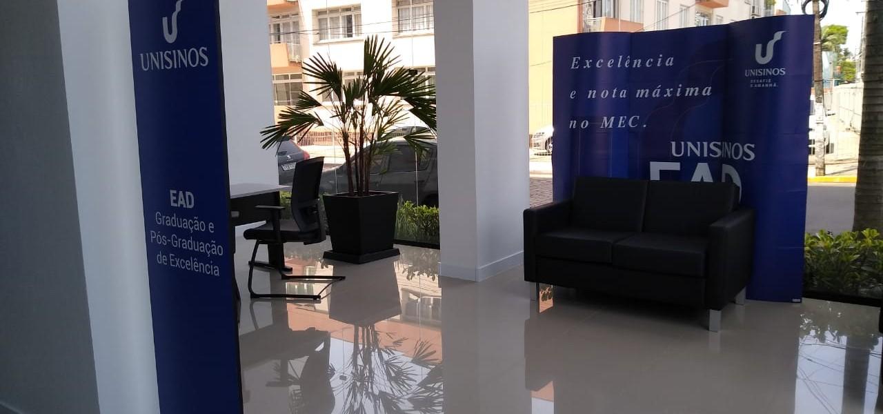 Unisinos inaugura novo Polo de Educação a Distância em São Leopoldo. Na semana da inauguração, serão oferecidos serviços gratuitos para a comunidade
