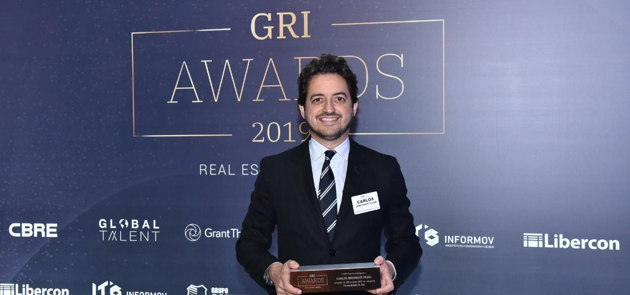Presidente da Iguatemi ganha prêmio de Personalidade do Ano de 2019 no GRI Awards