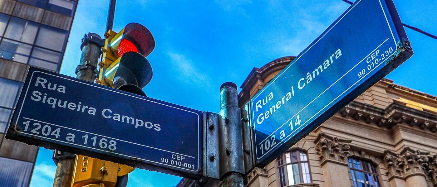 Porto Alegre: Entrega de propostas para novas placas de ruas termina dia 20
