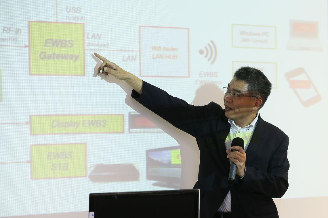 Governo japonês apresenta no Brasil sistema de alerta de desastre